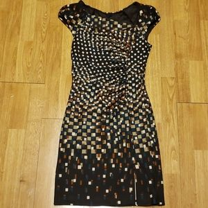 Rinascimento made in Italy fitted dress sz s